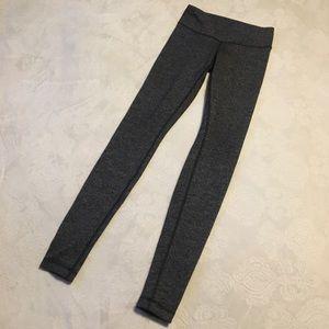 LULULEMON low rise ,full length pants(herringbone)